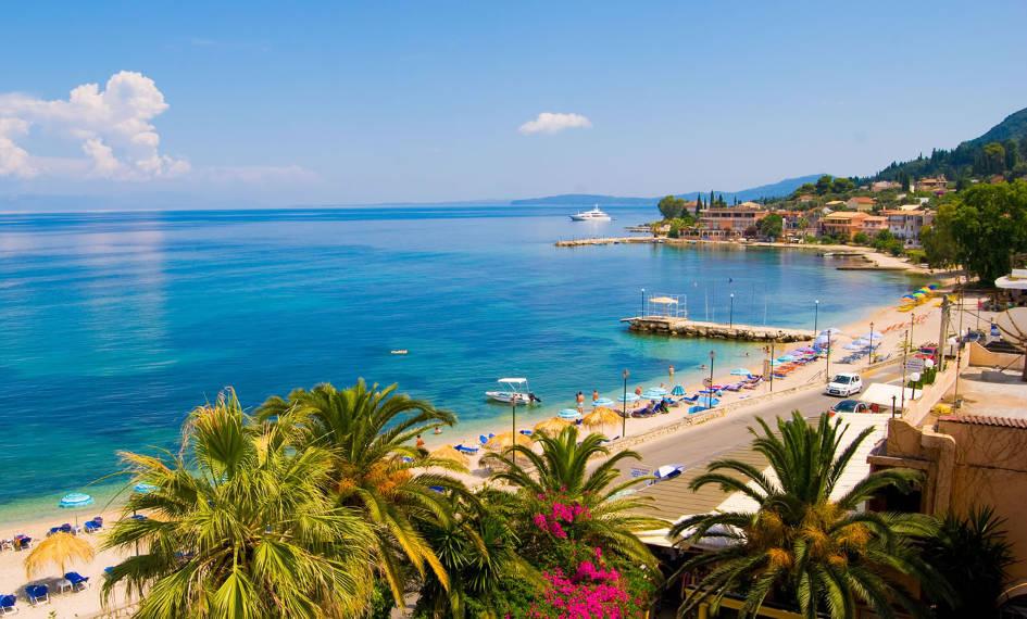 Statiuni si Plaje din Corfu